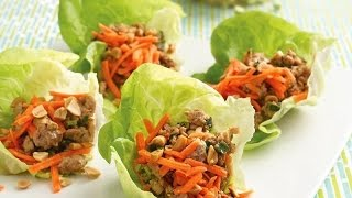 10 Day Detox Diet Recipes - Spiced Ground Turkey Lettuce Wraps
