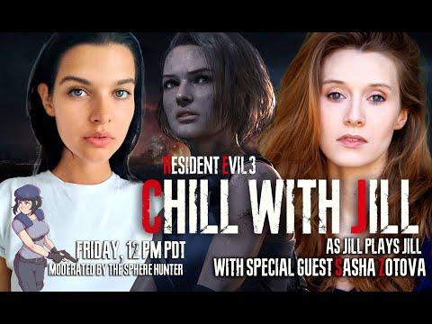 Chill With Jill As Jill Plays Jill With Jill - Jill Actor And Model Play RE3 Part 5 FINAL