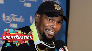 Are Kevin Durant's new shoes petty or motivating? | SportsNation | ESPN