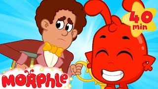 Morphle Helps Out   My Magic Pet Morphle  Cartoons For Kids  Morphle TV  Mila And Morphle
