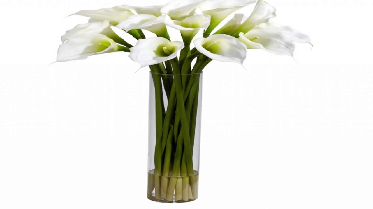 Calla Lilly In Tall Vase