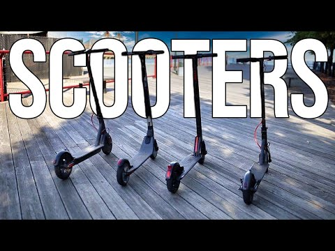 Review: 4 Best Electric Scooters in 2018