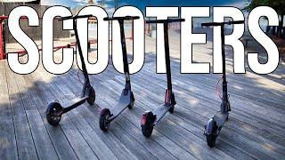 motorized scooter
