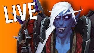 BFA ROGUE MYTHIC+ DUNGEONS PARROT MOUNT FARMING! (alts too) - WoW: Battle For Azeroth (Livestream)