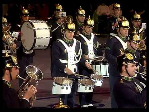 Banda da Guarda Nacional Republicana - GNR - Portugal - Tattoo - Bremen 2007