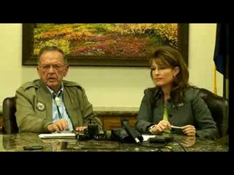 Senator Stevens Discusses Energy in Anchorage - Part 1