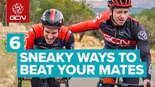 The Dark Side Of Cycling! Sneaky Tricks For Beating Stronger Riders