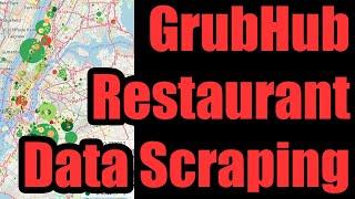 🍴 GrubHub Restaurant Data API & Scraping - How to Collect Structured Restaurant Data from GrubHub