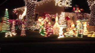 Christmas Lights in Lakeland, Florida
