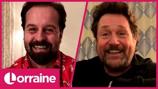 Alfie Boe and Michael Ball on Their Christmas Day Plans &amp Creating Music Together Again  Lorraine