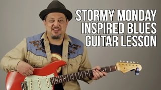 Video They Call It Stormy Monday Inspired Blues Guitar Lesson Chords Progression Allman Brothers download MP3, 3GP, MP4, WEBM, AVI, FLV September 2017