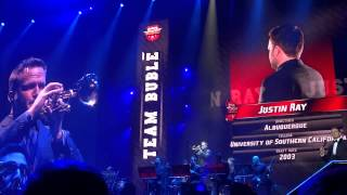 Michael Bublé - Band Introductions -  at the Hartwall Arena, Helsinki - Feb 21 2014 - 1080p HD