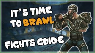 Brawler's Guild All Rank 1 to Rank 8 Fights Guide for 8.1.5