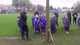 CZ1-Kudełek na Mistrzostwach Polski Footbal Academy w roczniku 2010-Rozpoczęcie-I Mecz FA lwówek