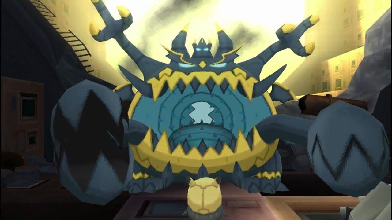 Pokemon Ultra Sun Guzzlord Encounter In The Ultra Ruin