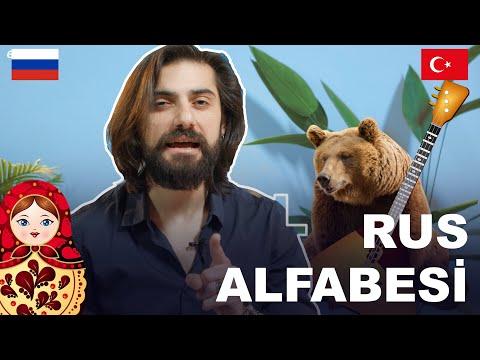 Türkler Için Rus Alfabesi / Русский алфавит для турок