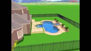 The Complete Backyard- Askew Model Home- Phillip Veno-  Designs Are Proprietary