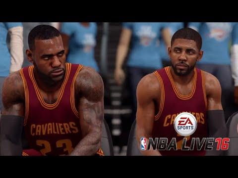 EA- NBA LIVE 16 Gameplay - Cleveland Cavaliers vs Oklahoma City Thunder Demo| PS4, Xbox One