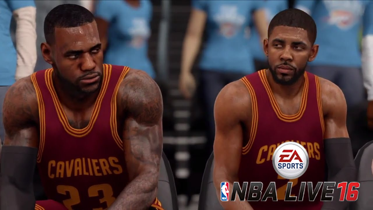 EA- NBA LIVE 16 Gameplay - Cleveland Cavaliers vs Oklahoma City Thunder Demo| PS4, Xbox One ...