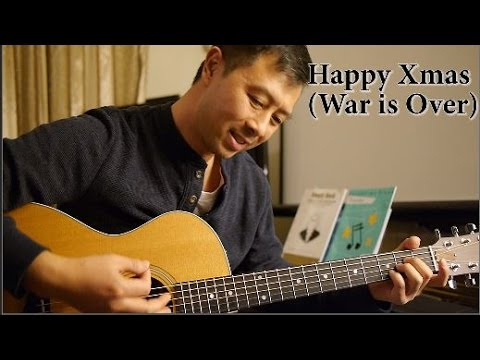 John Lennon - Happy Xmas (War is Over) (Cover guitar with lyrics and ...
