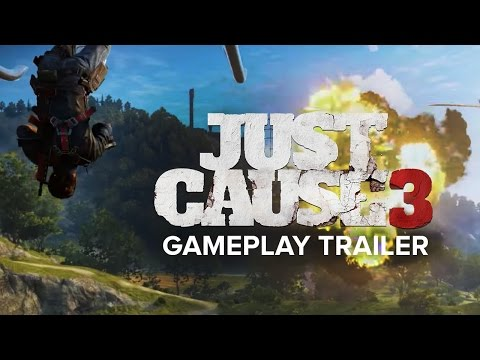 JUST CAUSE 3 - Erster Gameplay-Trailer