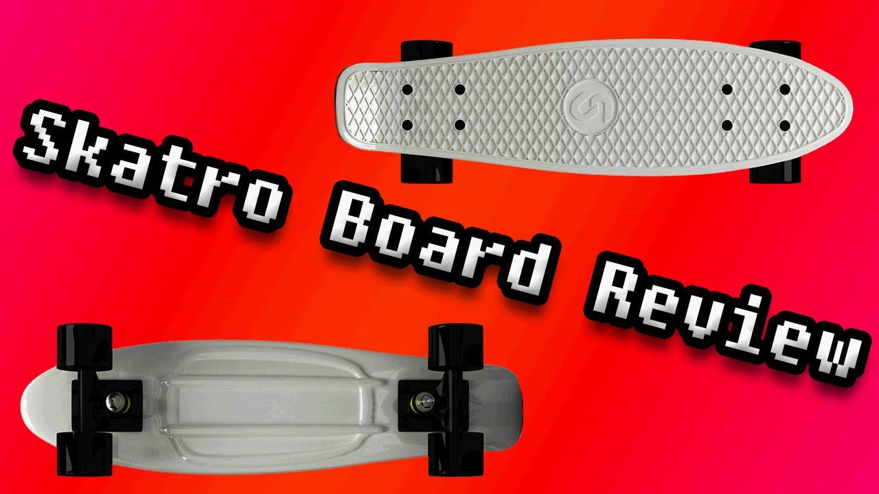 Skatro Board Review - YouTube a76fe7ae088