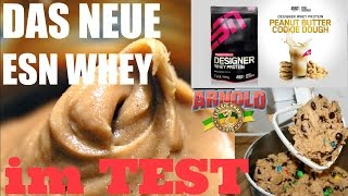 Whey Test | Esn Peanut Butter Cookie Dough + Arnold Brasil