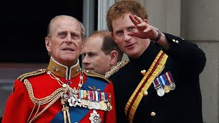 Prince Philip 'grows in stature' while Prince Harry 'struggles to find some'