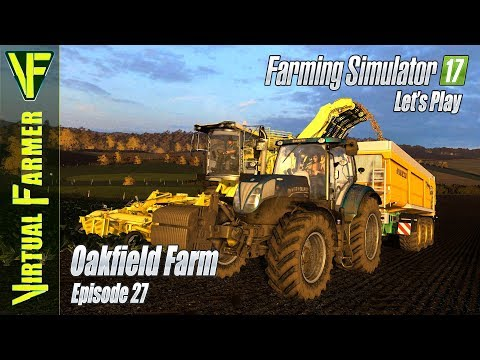Sunset Sugar Beet | Oakfield Farm, Episode 27: Let's Play Farming Simulator 17