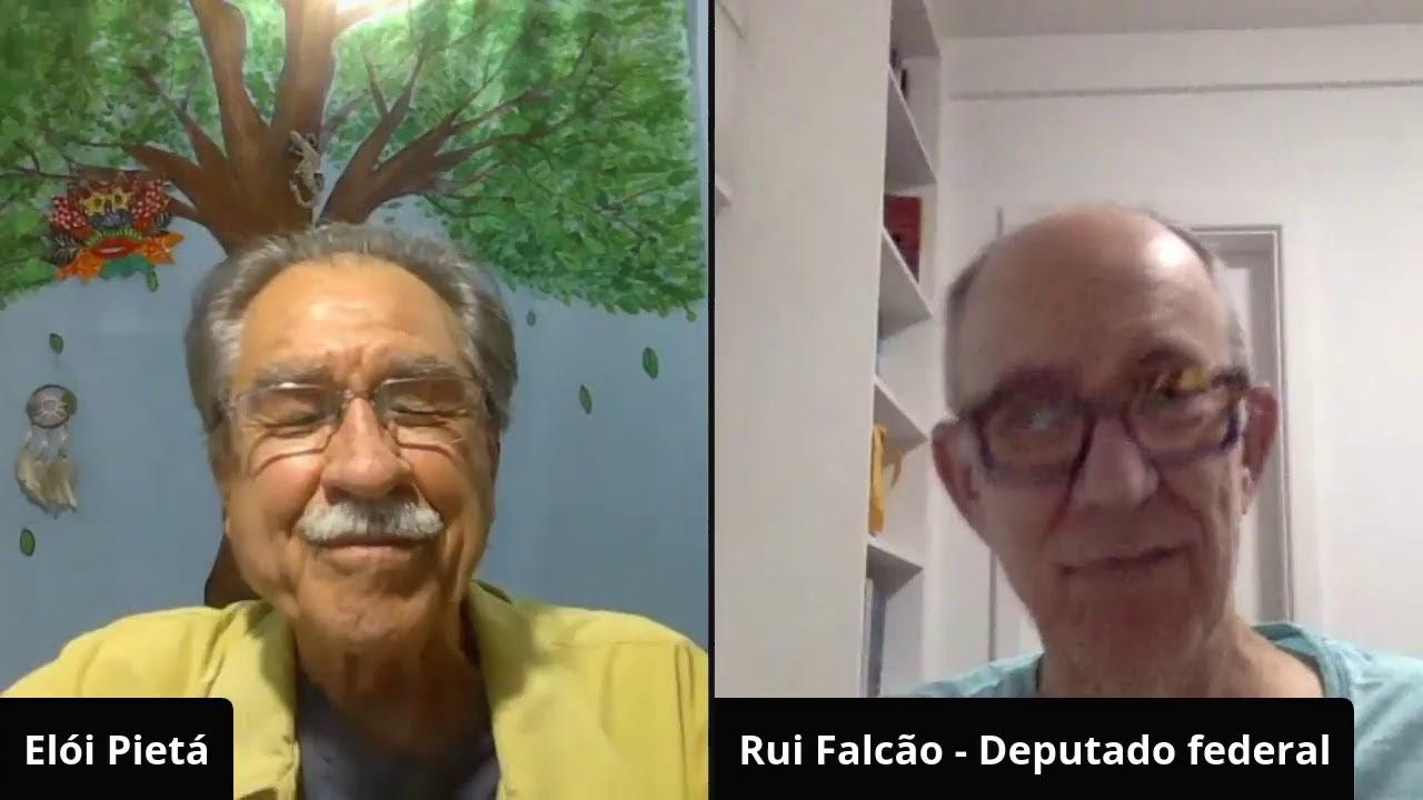 FIQUE LIGADO: ELÓI CONVERSA COM O DEPUTADO FEDERAL RUI FALCÃO SOBRE O SOCORRO DE TEMER A BOLSONARO