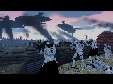"501st RUN FOR THEIR LIVES! - Star Wars Arma 3 Zeus Op - ""501st's Mogadishu Mile"""