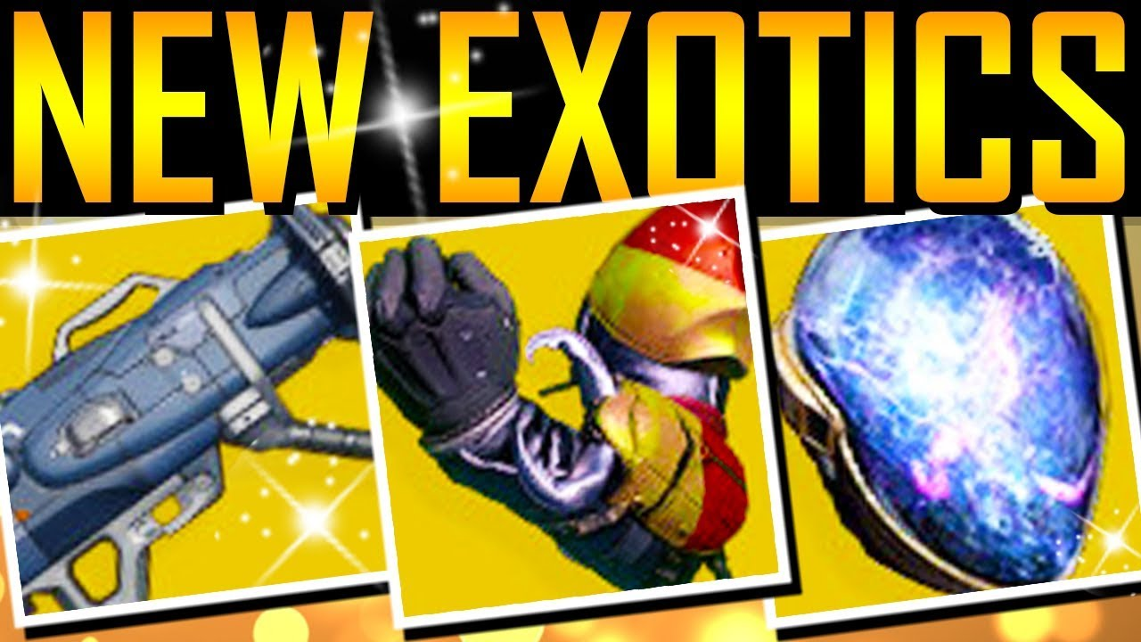 Destiny 2 - NEW EXOTICS! NEW EXOTIC QUESTS! thumbnail