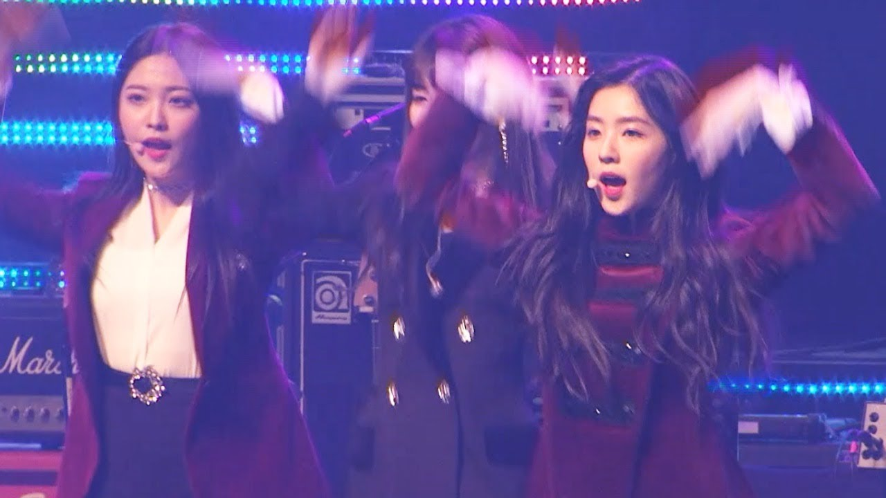 레드벨벳(Red Velvet) '빨간맛' 평양버전 @ 남측예술단 평양공연 2018. 4. 1