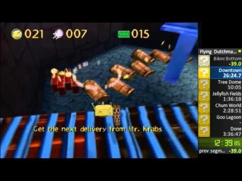 Speedrun: Spongebob Revenge of the Flying Dutchman - 2:23:15