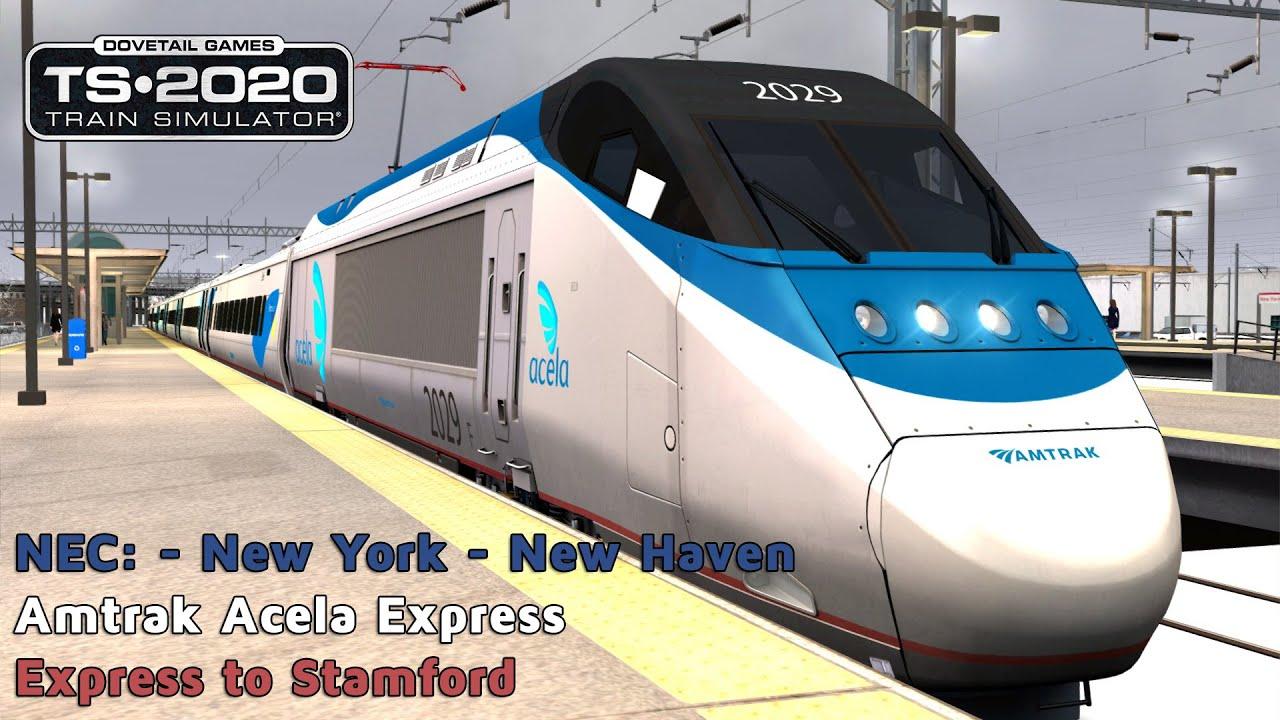 Express to Stamford - NEC: New York to New Haven - Amtrak Acela - Train  Simulator 2020