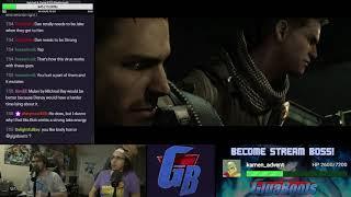 Resident Evil 6 Livestream Playthrough [Part 2]