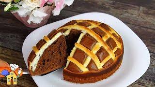 Шоколадный Пирог к чаю за 10 минут + время на выпечку