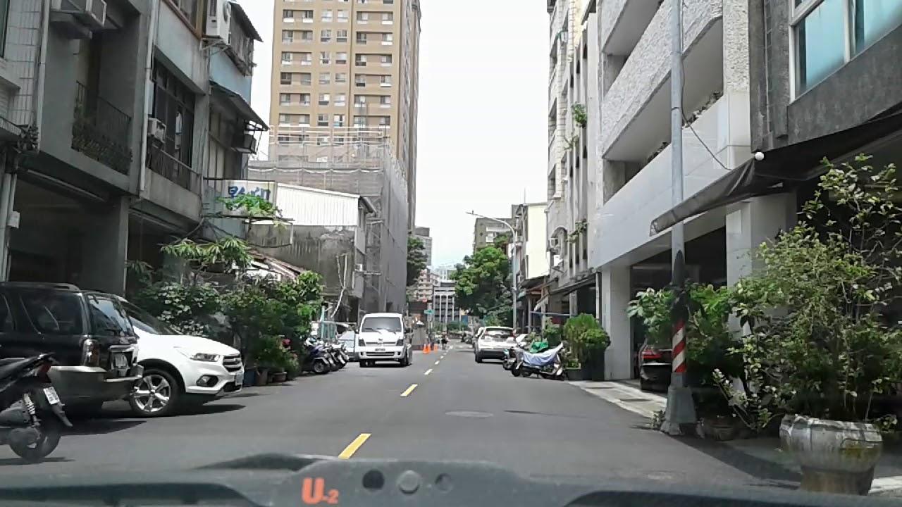 從車內看高雄~光復三街 月雲茶莊