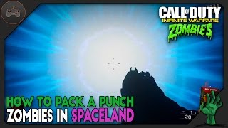How To Pack A Punch On Zombies In Spaceland | IW Zombies Pack A Punch Tutorial
