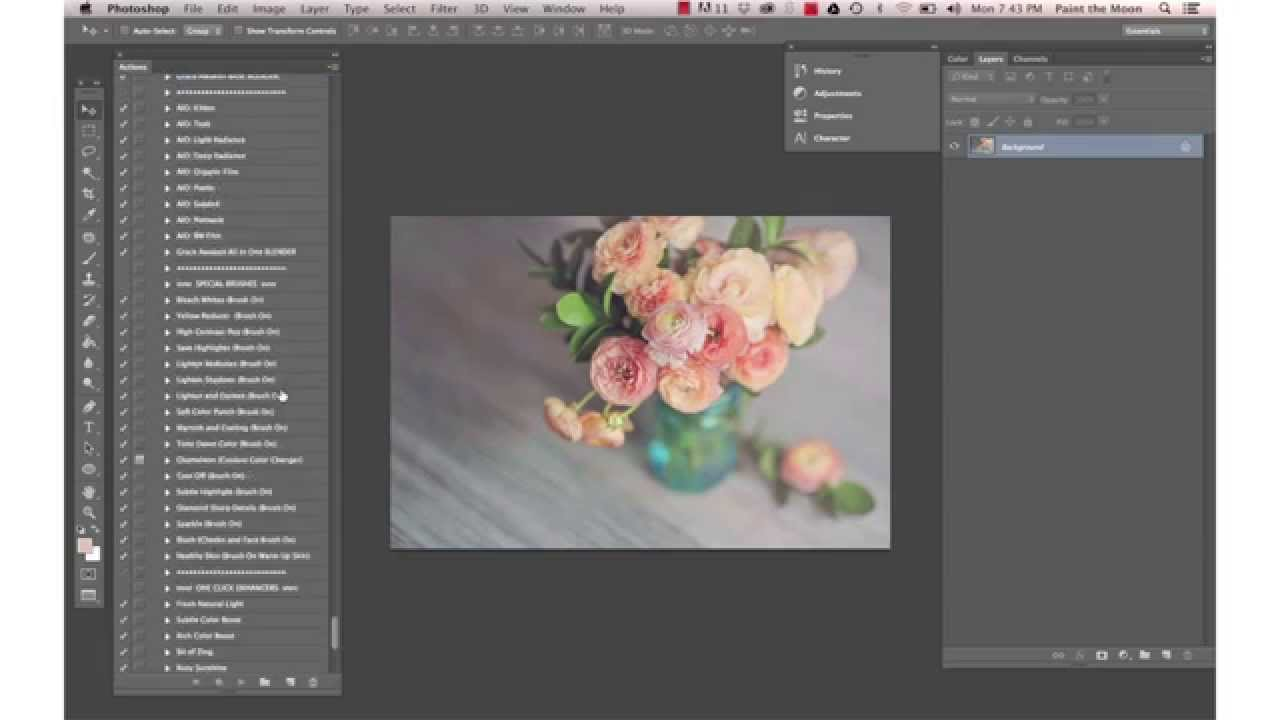 How to Create and Use Photoshop Actions to