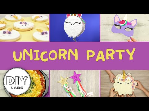 UNICORN🦄 Kids Party | DIY Decorations, Snacks, Party Favors and Birthday Cake