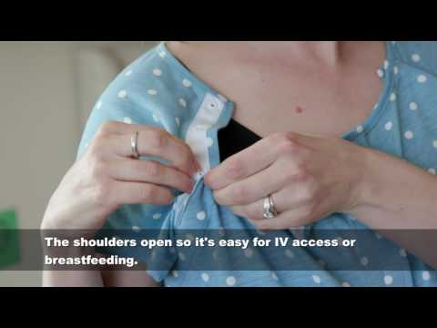 The Labor & Delivery Gowns by Kindred Bravely