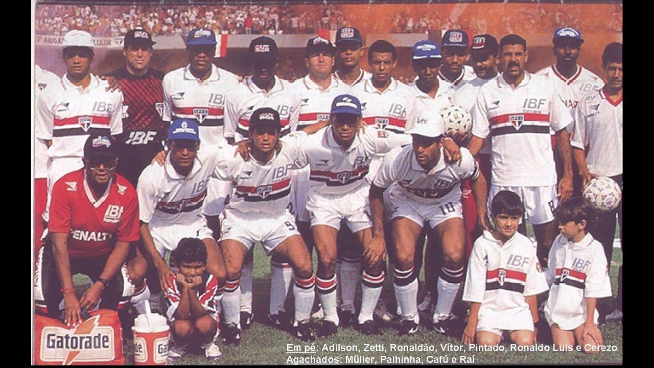 final Campeonato Paulista 1992: São Paulo x Palmeiras (2o ...
