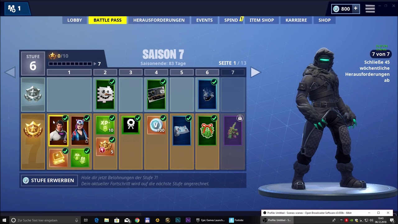 Fortnite Zenith Lynx Zenit Luchs Season 7 Skins Youtube