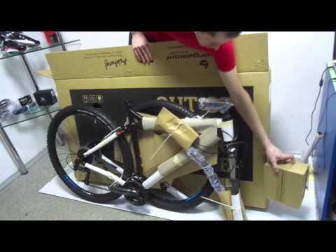 Покупка велосипеда по интернету. Основные моменты упаковки.