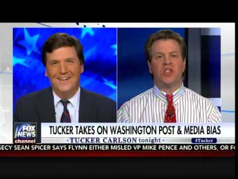 BRUTAL! Tucker Carlson Destroys WaPo Hack and Paper's Entire Credibility in One Interview
