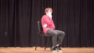 Joseph Pickens performs The Dentist by Bill Cosby at Kadena High School 6 June 2016