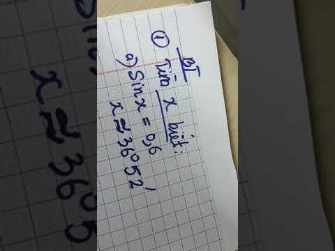 BT về tỉ số lượng giác trong tam giác trong tam giác vuông(5)
