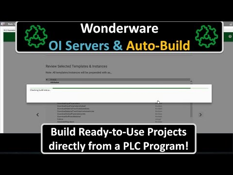 Introducing Auto-Build functionality with Wonderware OI Servers