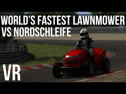 Assetto Corsa - The World's FASTEST Lawn Mower Takes On The Nordschleife